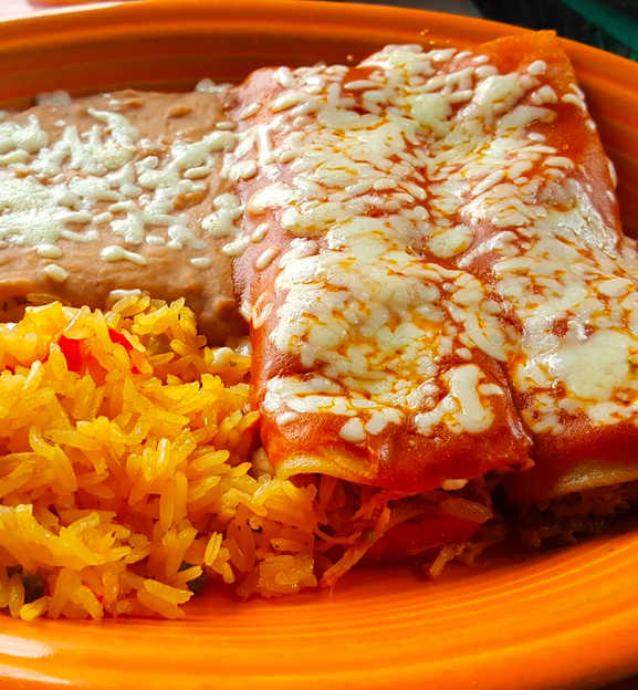 El Paso Mexican Grill Dishes